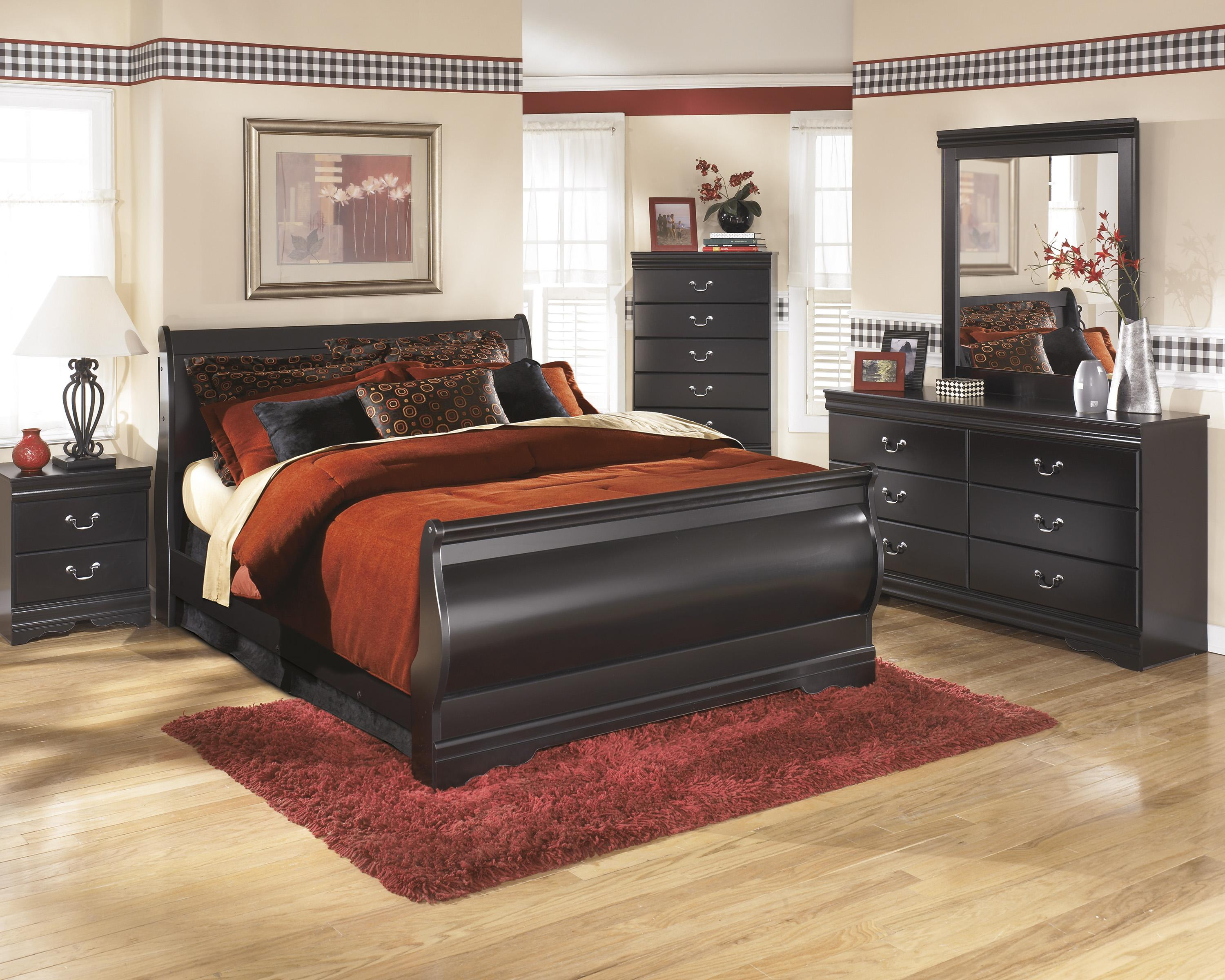 Signature Design by Ashley Huey Vineyard King Bedroom Group - Item Number: B128 K Bedroom Group 1