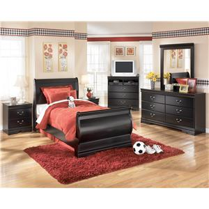 Signature Design by Ashley Furniture Huey Vineyard 4 Piece Bedroom Group