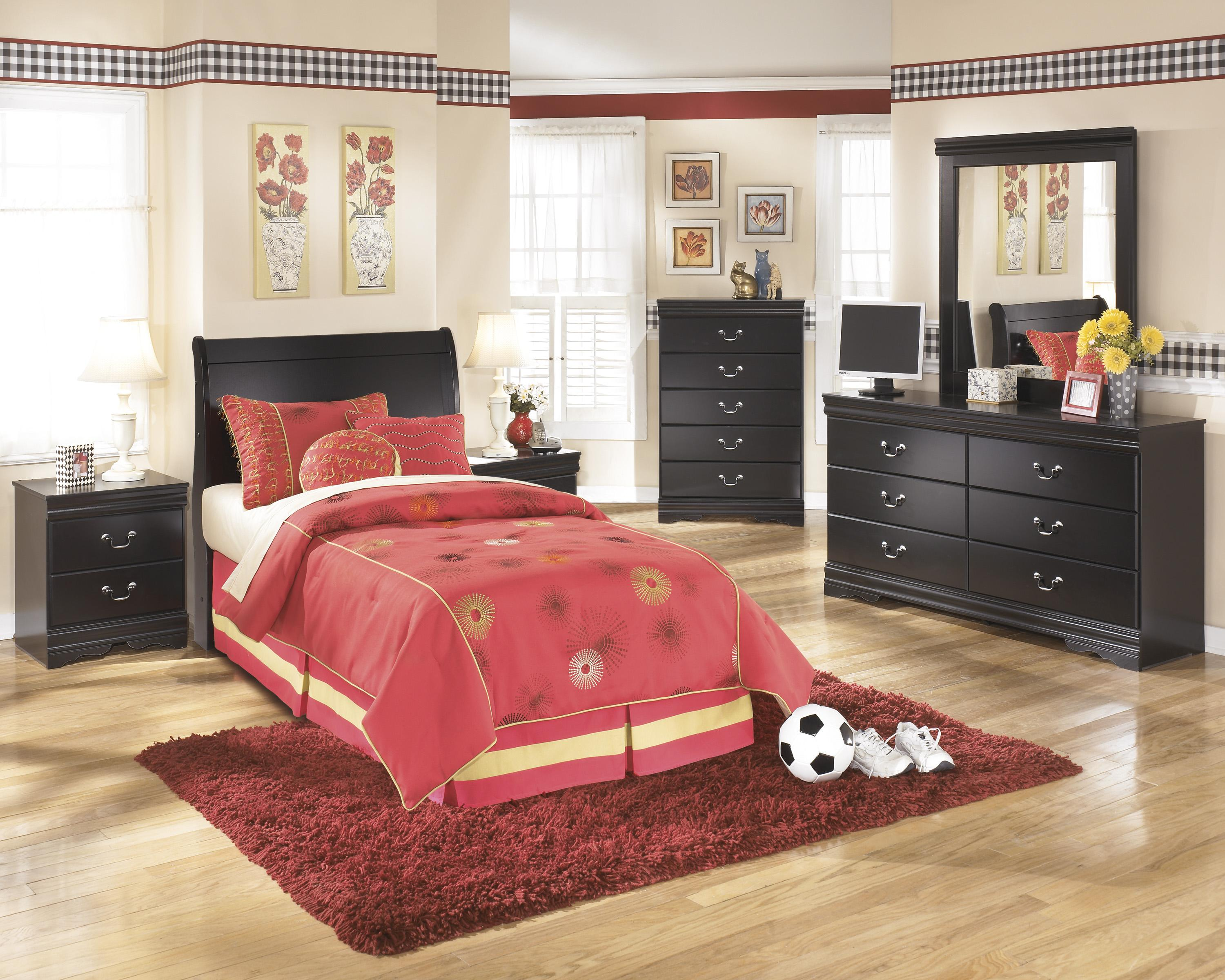 Signature Design by Ashley Huey Vineyard Twin Bedroom Group - Item Number: B128 T Bedroom Group 2