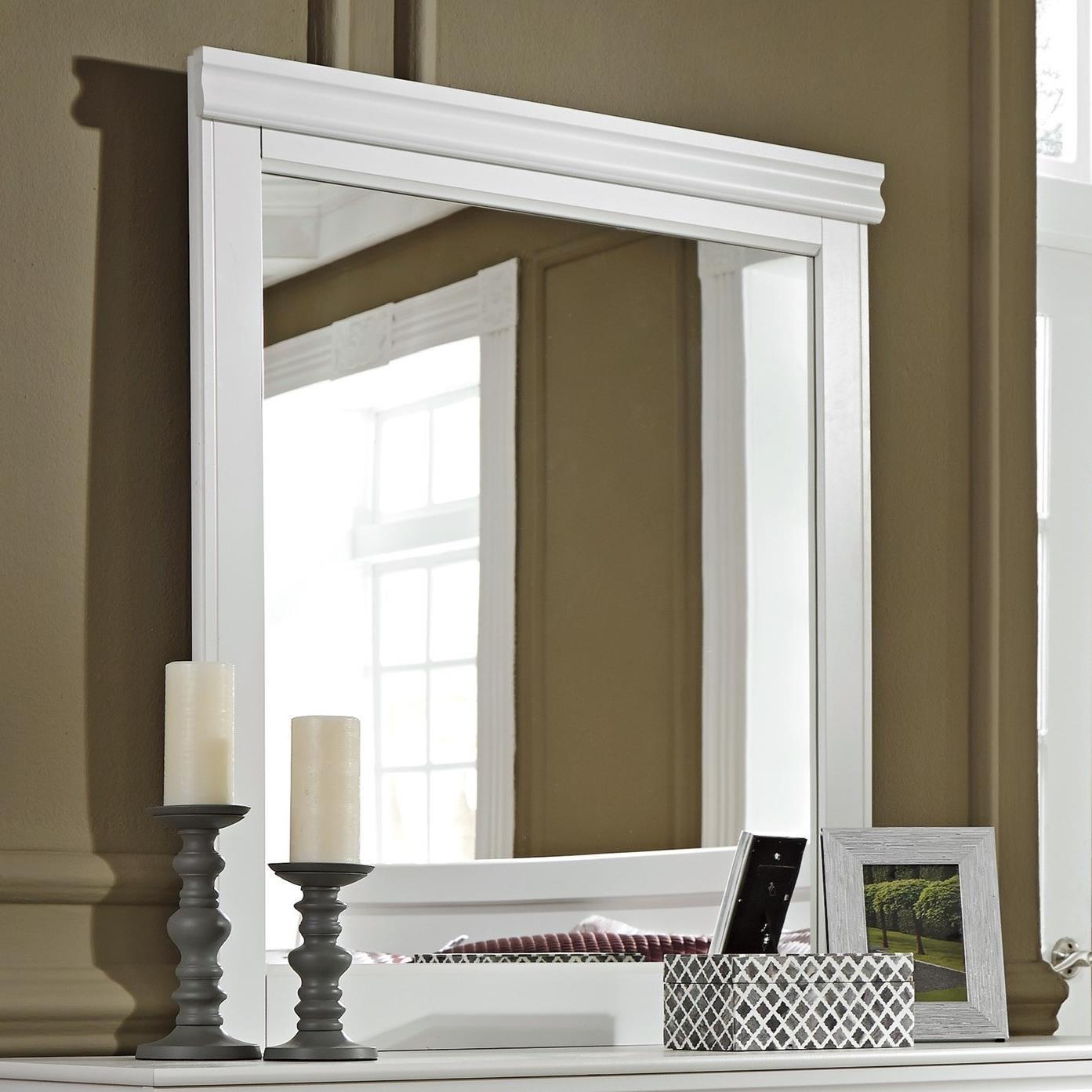 Anarasia Mirror by Benchcraft at Virginia Furniture Market