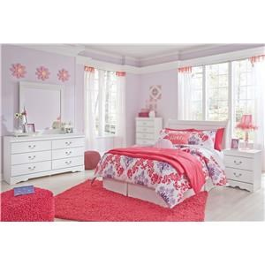 4PC Full Bedroom Set