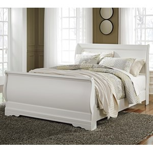 Ashley Signature Design Anarasia Queen Sleigh Bed