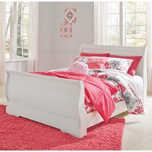 Ashley Signature Design Anarasia Full Sleigh Bed