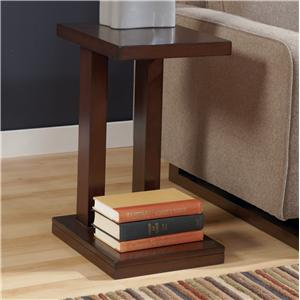 Signature Design by Ashley Furniture Hyden Chairside End Table