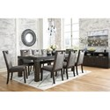 Signature Design by Ashley Hyndell Dining Room Group - Item Number: D731 Dining Room Group 2