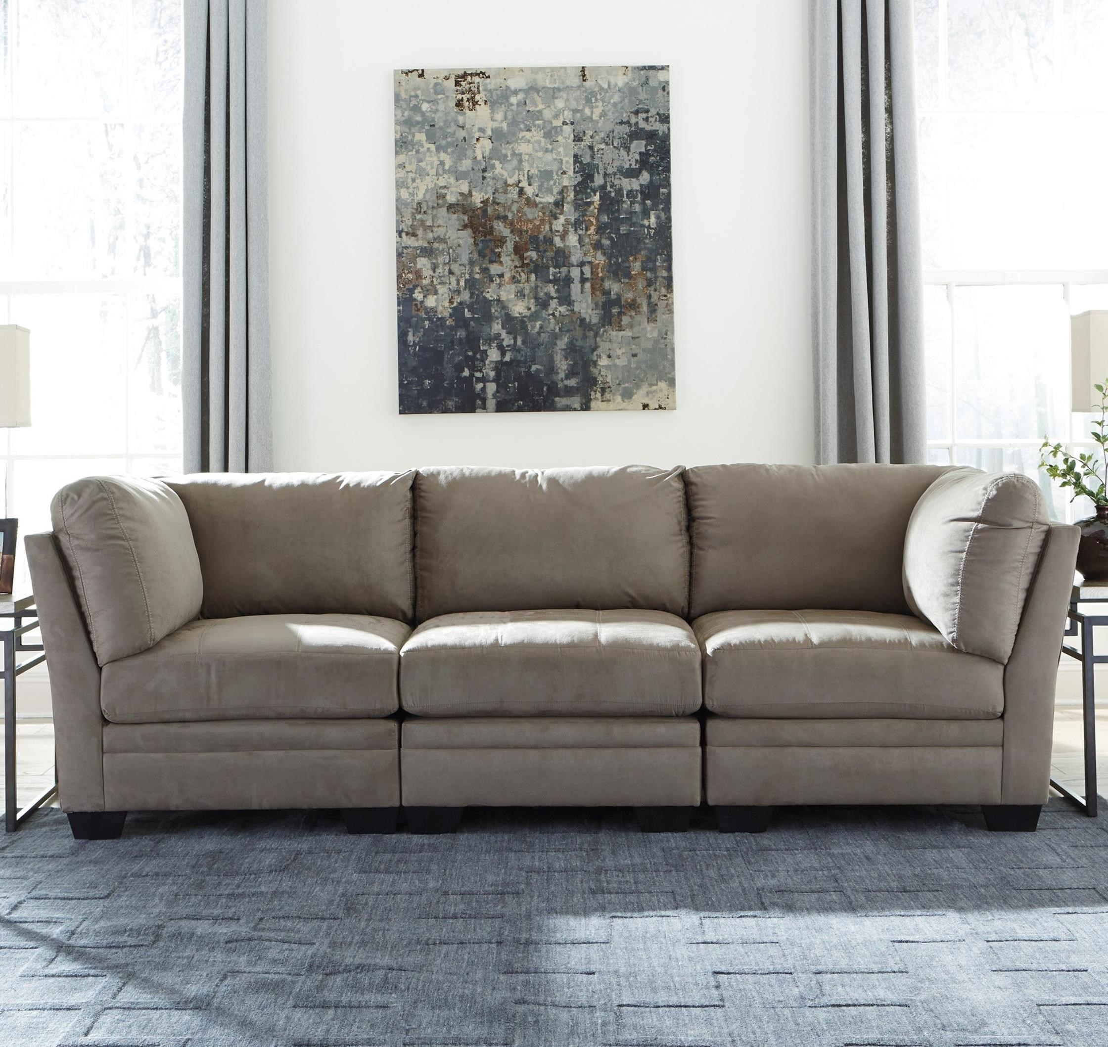 Signature Design by Ashley Iago Modular Sofa - Item Number: 6180346+2x51