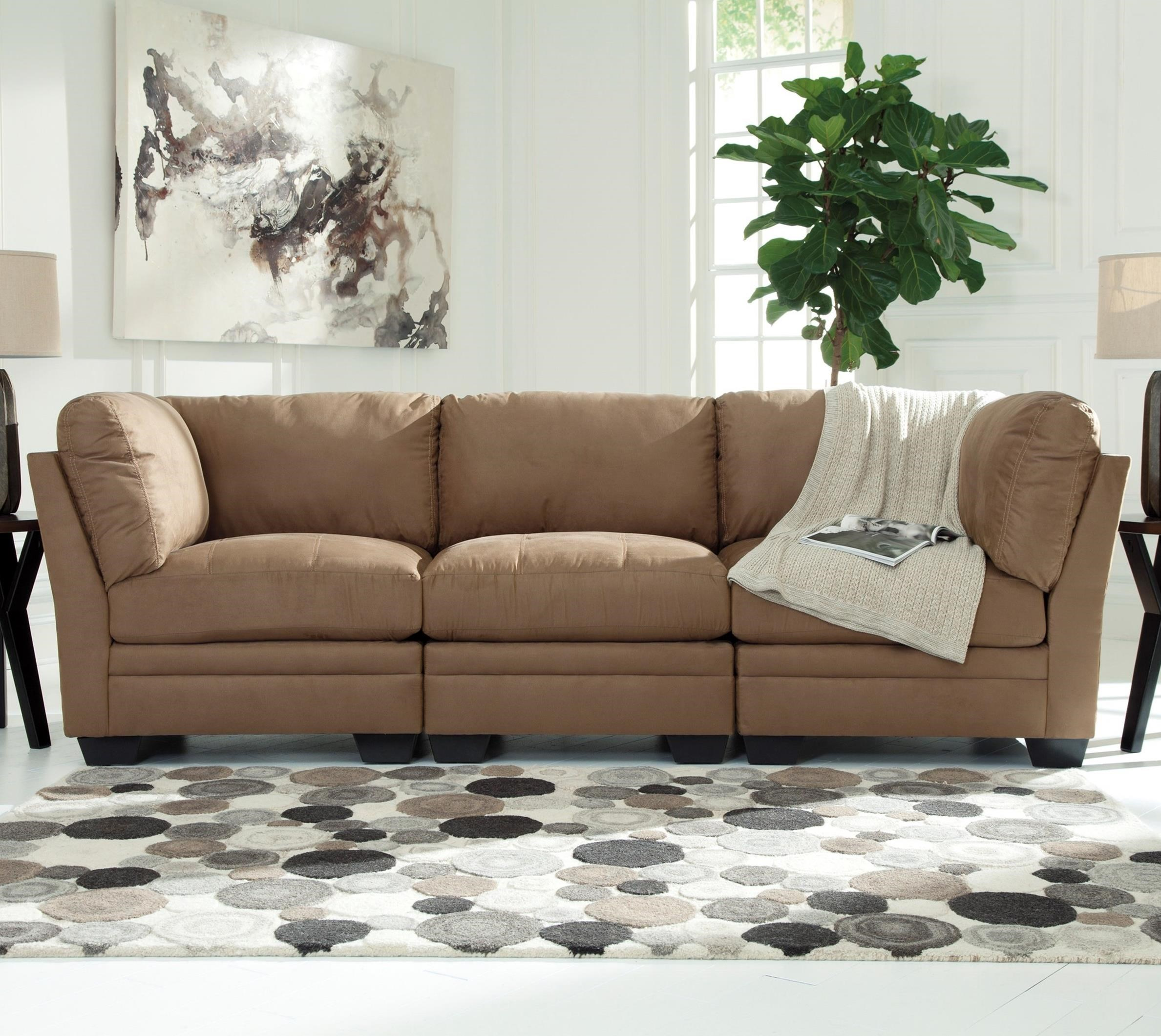 Signature Design by Ashley Iago Modular Sofa - Item Number: 6180546+2x51