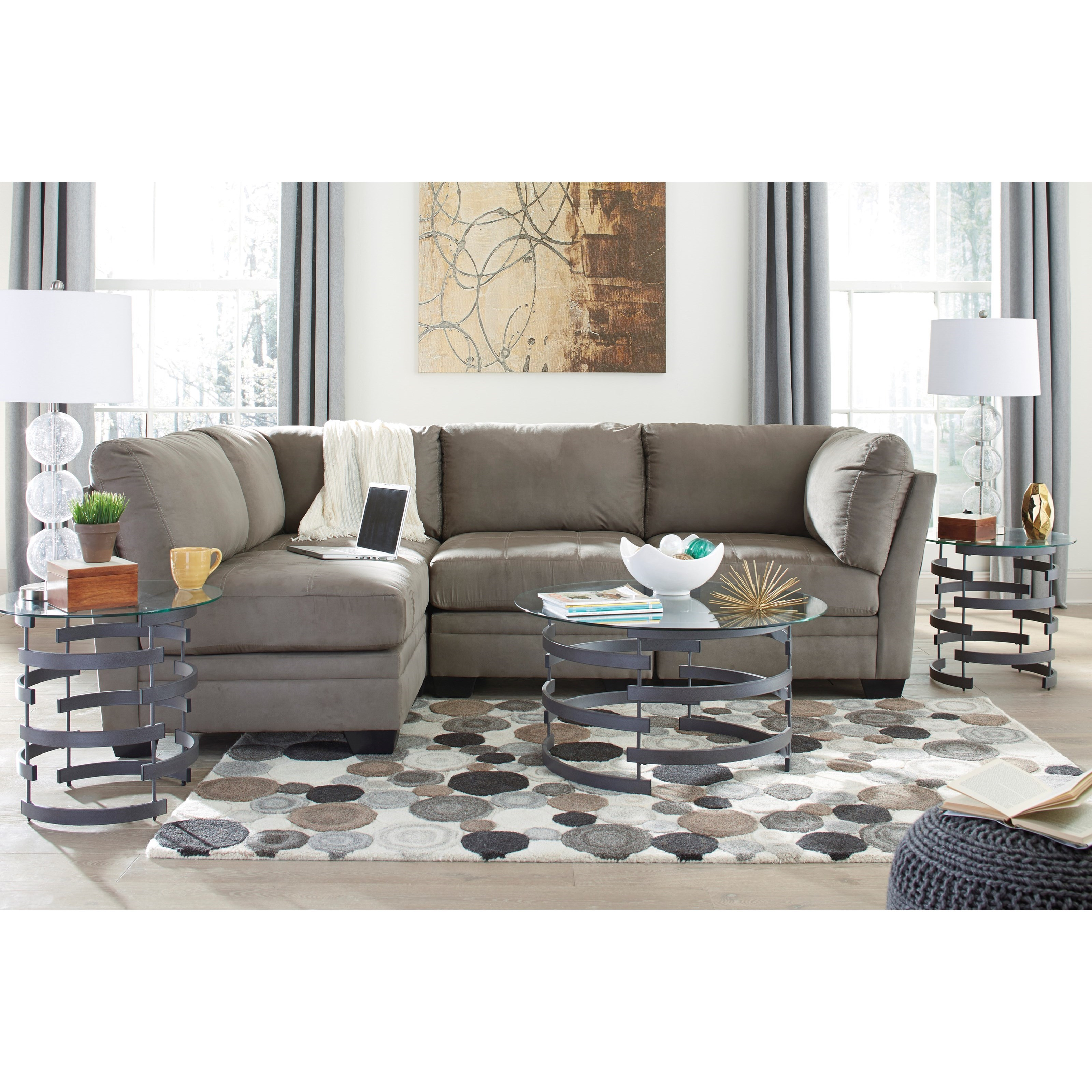 Modular Sectional Sofa Ashley: Signature Design By Ashley Iago 4-Piece Modular Sectional