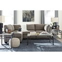 Signature Design by Ashley Iago 4-Piece Modular Sectional