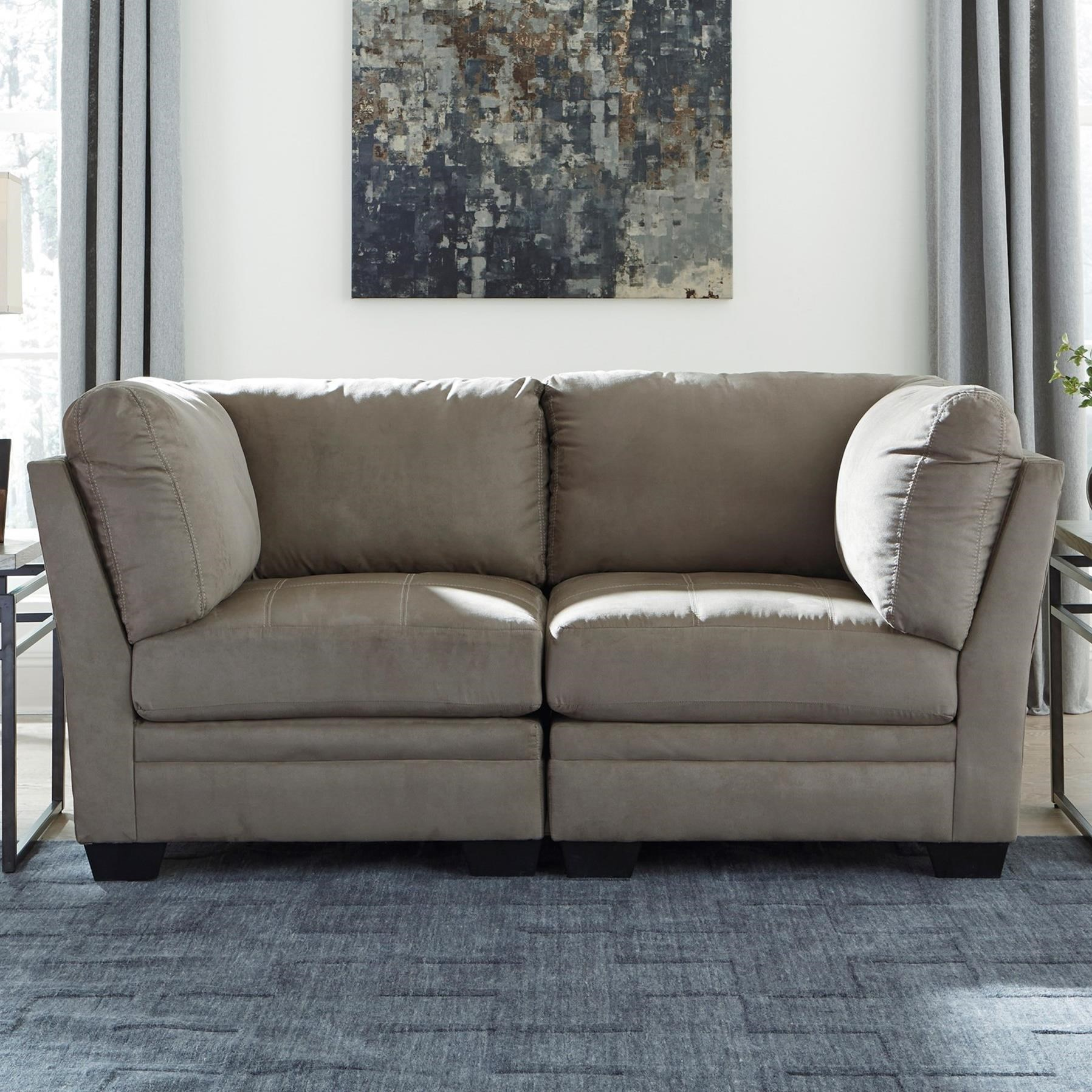Signature Design by Ashley Iago Modular Loveseat - Item Number: 6510351x2