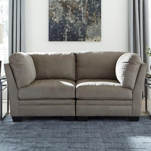 Signature Design by Ashley Iago Modular Loveseat