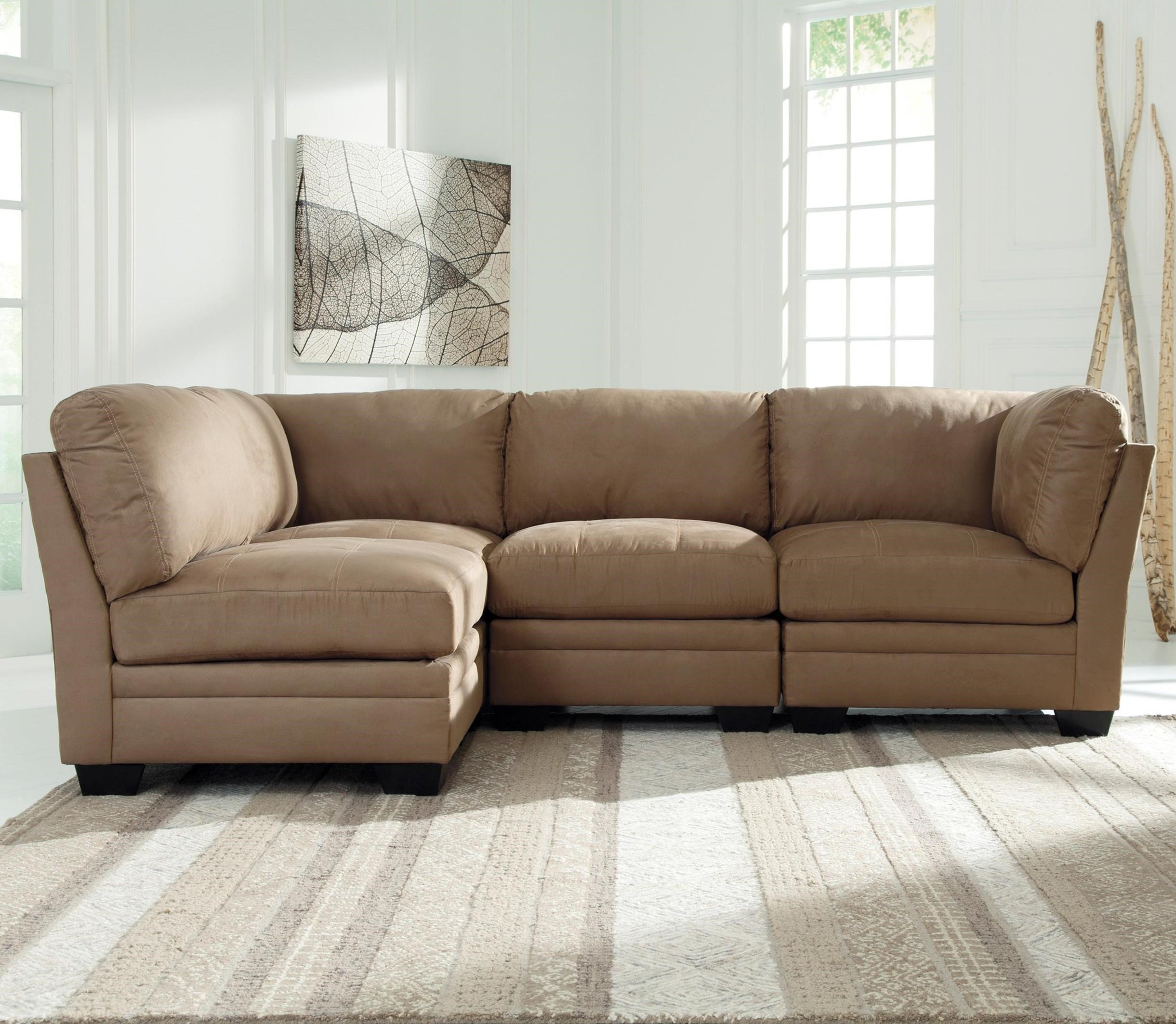 Signature Design by Ashley Iago 4-Piece Modular Sectional - Item Number: 6510546x2+2x51