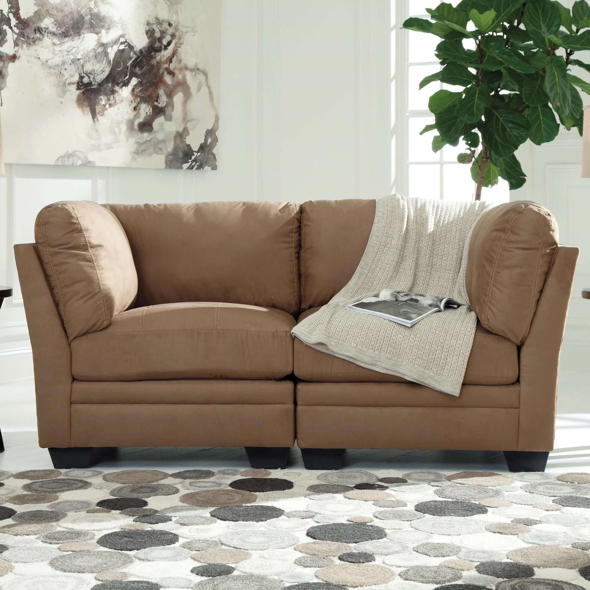 Signature Design by Ashley Iago Modular Loveseat - Item Number: 6510551x2