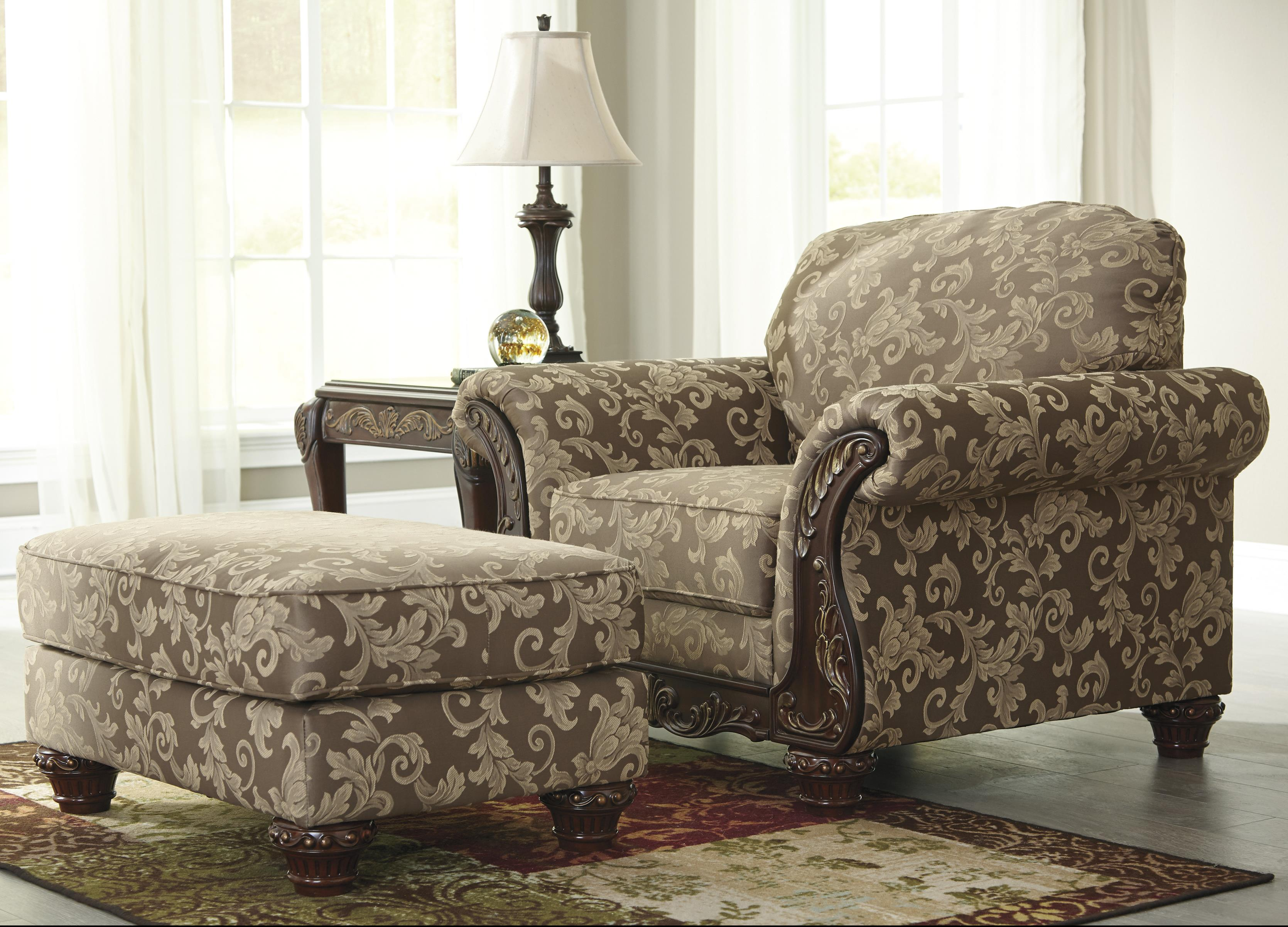 Signature Design by Ashley Irwindale Chair & Ottoman - Item Number: 8840420+14