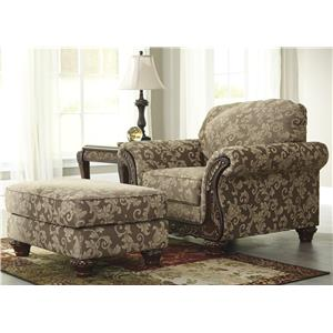 Signature Design by Ashley Irwindale Chair & Ottoman