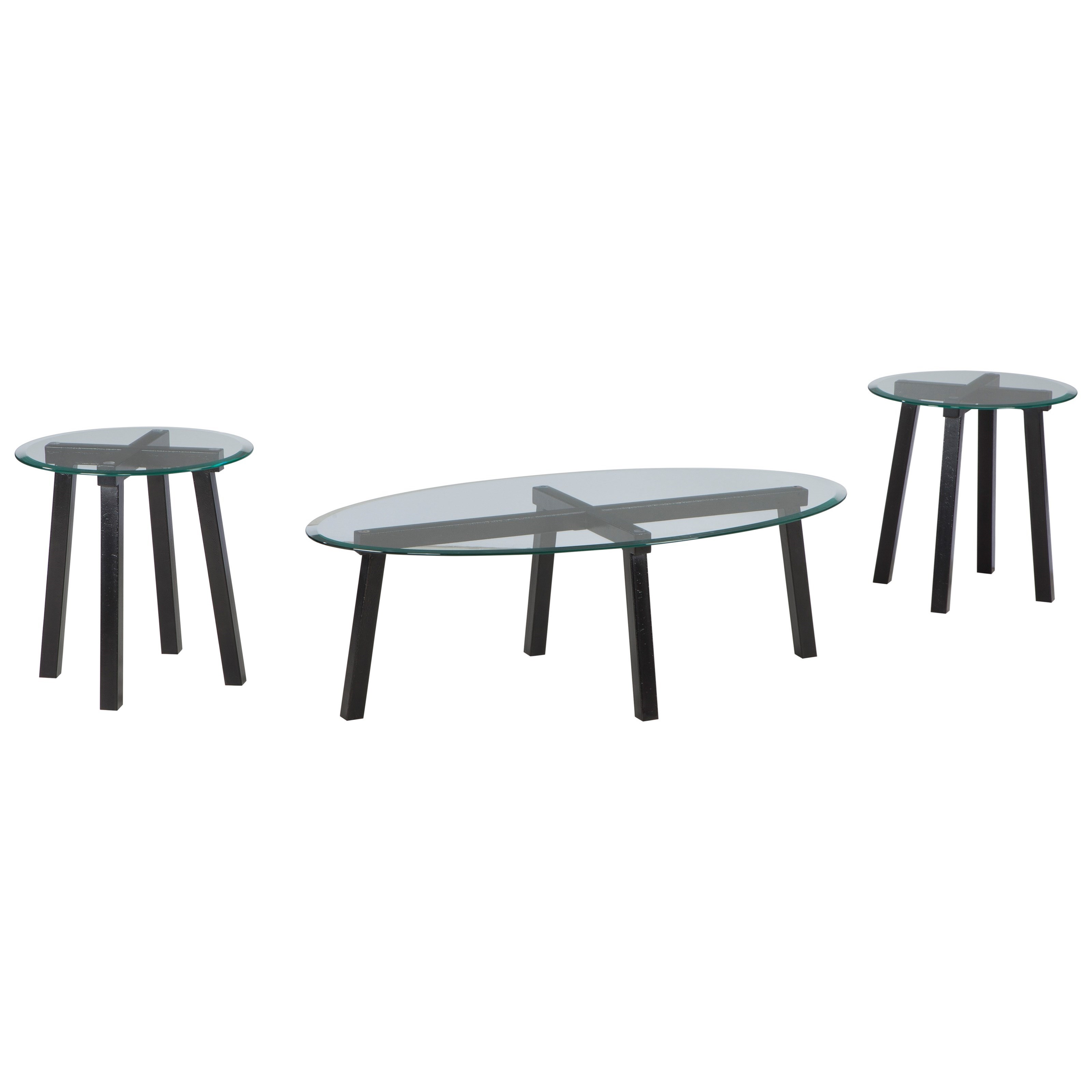 Signature Design by Ashley Iselle Occasional Table Set - Item Number: T132-13