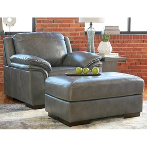 Benchcraft Islebrook Chair & Ottoman