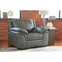 Signature Design by Ashley Islebrook Contemporary Leather Match Chair