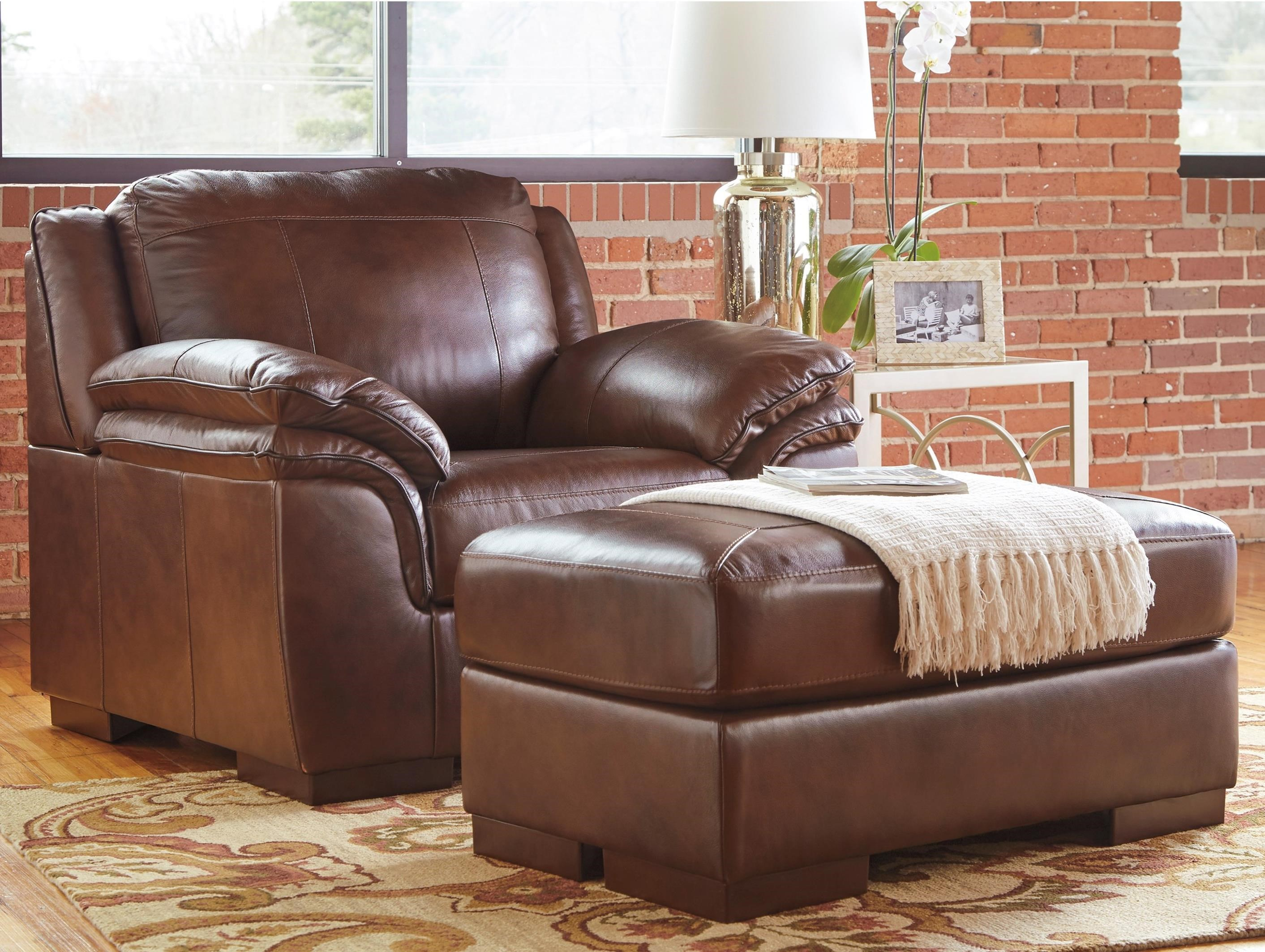 Signature Design By Ashley Islebrook Contemporary Leather