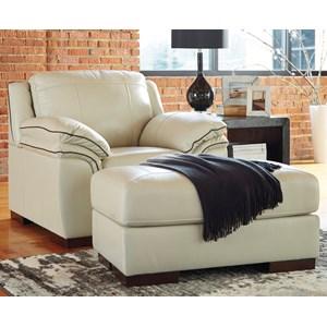 Ashley (Signature Design) Islebrook Chair & Ottoman