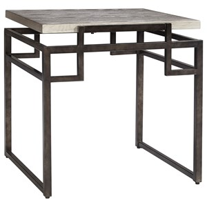 Signature Design by Ashley Isman Square End Table