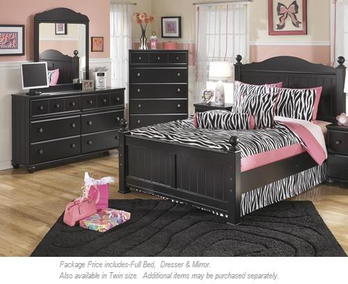 Signature Design by Ashley Jaidyn 3-PC Full Bedroom - Item Number: B150 3 PC FULL BEDROOM