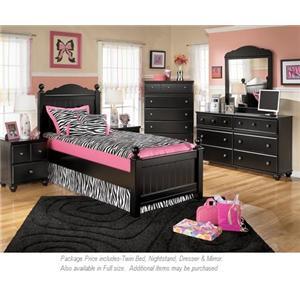 Signature Design by Ashley Jaidyn 4-PC Twin Bedroom