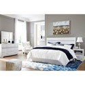 Signature Design by Ashley Jallory King Bedroom Group - Item Number: B302 K Bedroom Group 1