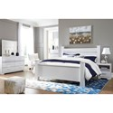 Signature Design by Ashley Jallory King Bedroom Group - Item Number: B302 K Bedroom Group 2