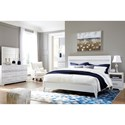 Signature Design by Ashley Jallory King Bedroom Group - Item Number: B302 K Bedroom Group 3