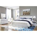 Signature Design by Ashley Jallory King Bedroom Group - Item Number: B302 K Bedroom Group 4