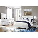 Signature Design by Ashley Jallory Queen Bedroom Group - Item Number: B302 Q Bedroom Group 3