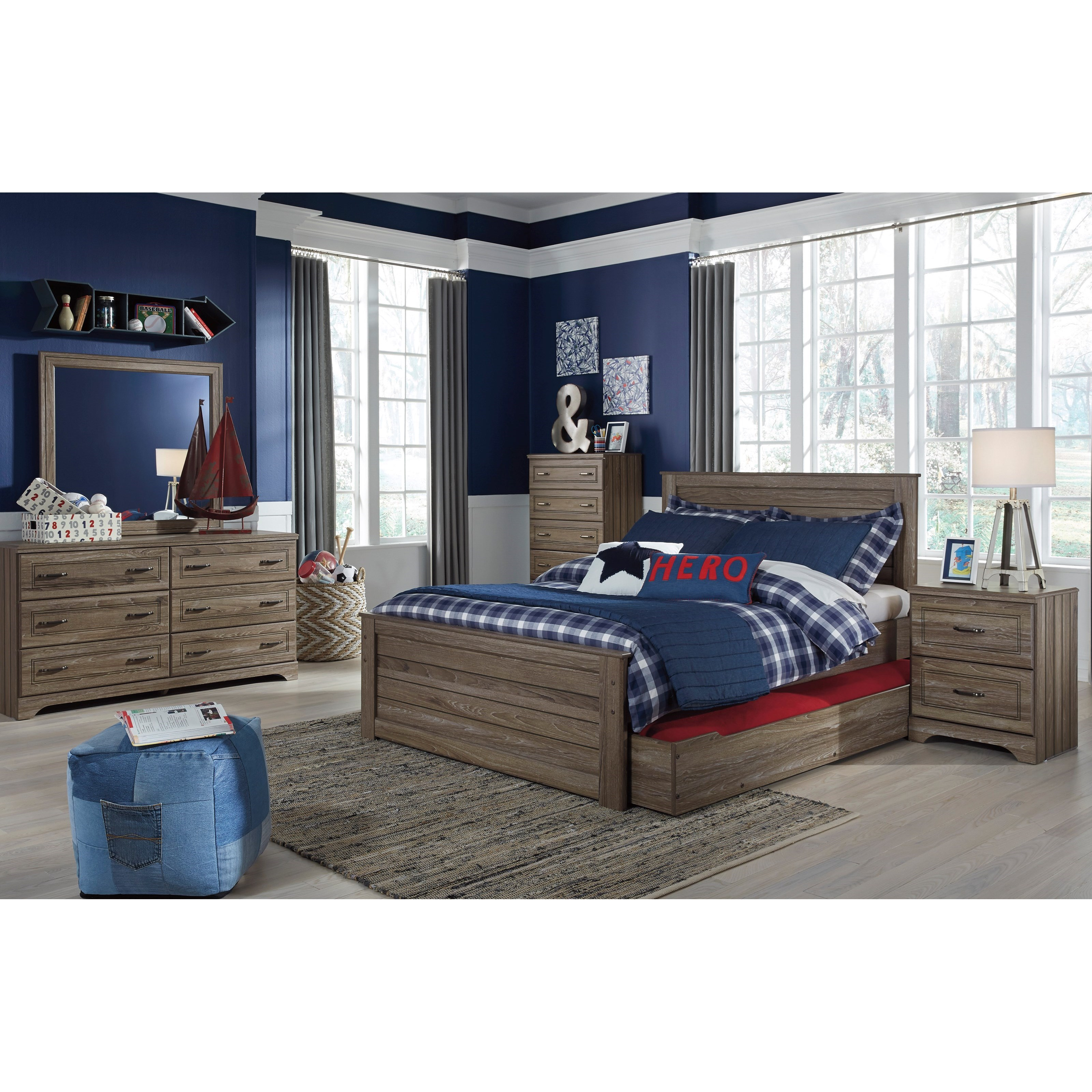Signature Design By Ashley Javarin Full Bedroom Group Value City Furniture Bedroom Groups