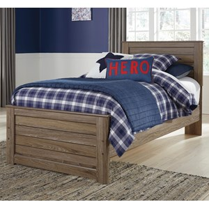 Signature Design by Ashley James Twin Panel Bed
