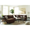 Signature Design by Ashley Jayceon 3-Piece Sectional with Left Chaise