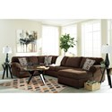 Signature Design by Ashley Jayceon 3-Piece Sectional with Right Chaise