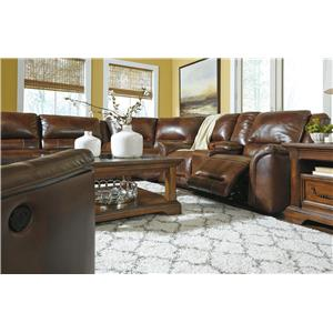 Signature Design by Ashley Jayron Reclining Living Room Group