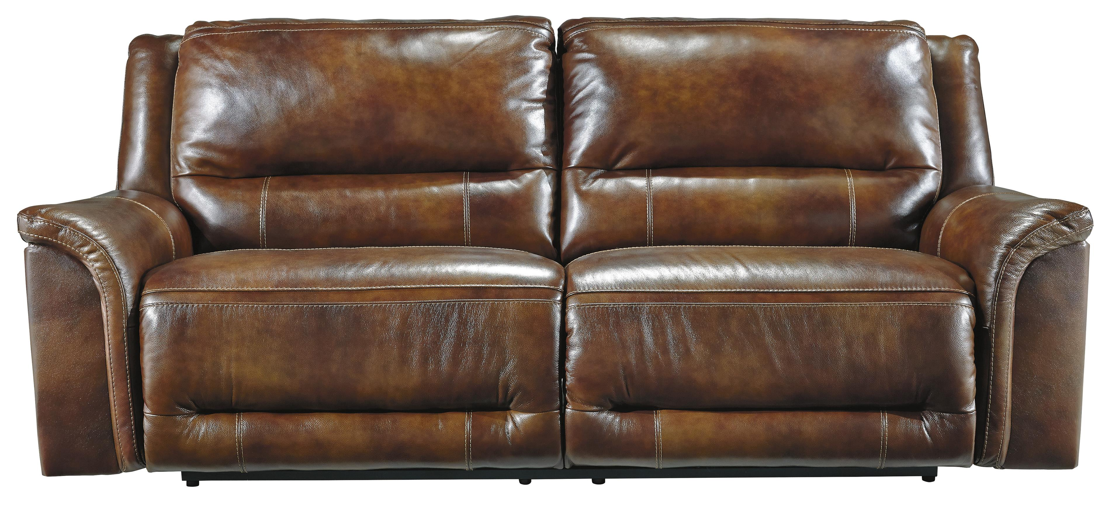 Signature Design by Ashley Jayron 2 Seat Reclining Power Sofa - Item Number: U7660047