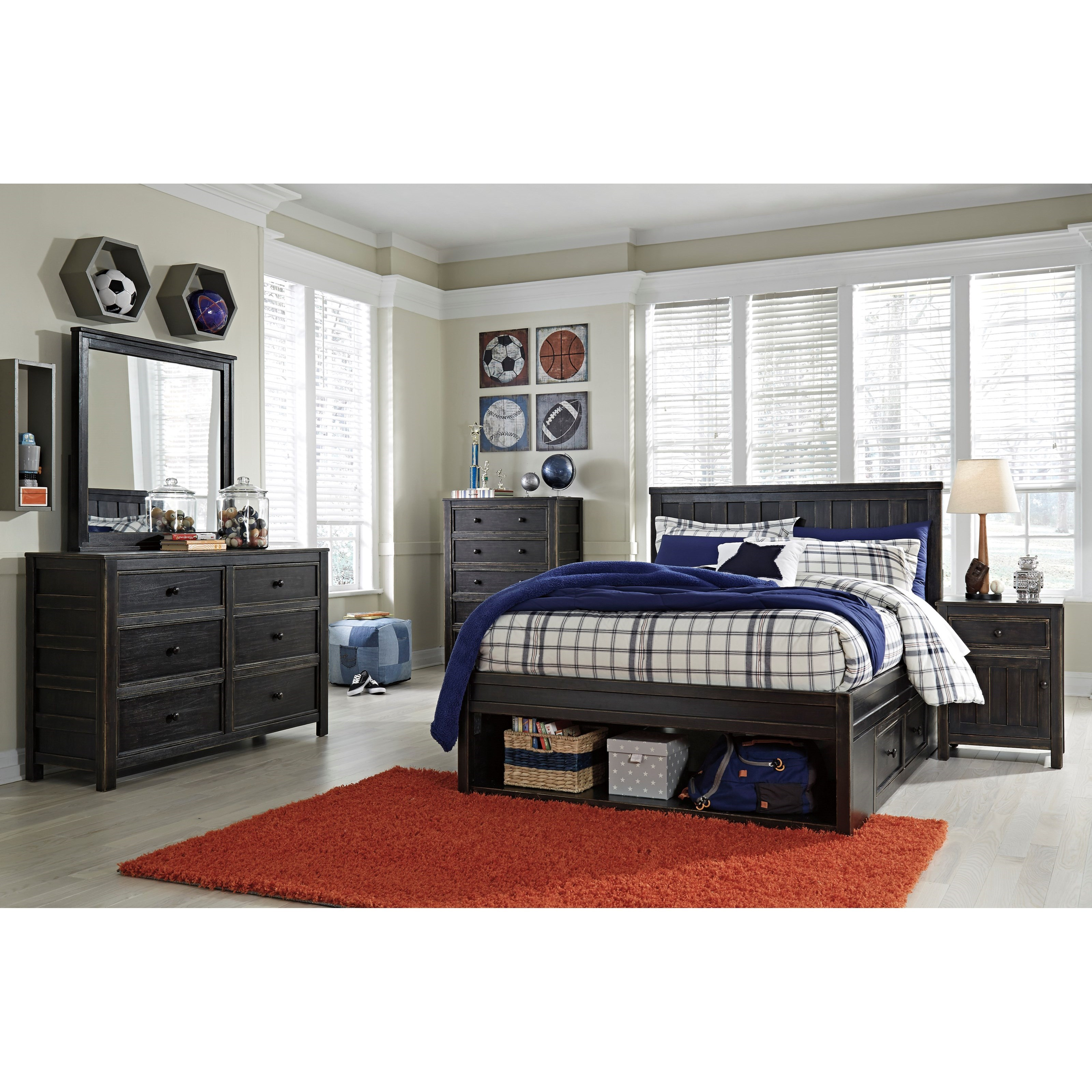 Signature Design by Ashley Jaysom Full Bedroom Group - Item Number: B521 F Bedroom Group 3