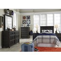 Signature Design by Ashley Jaysom Twin Bedroom Group - Item Number: B521 T Bedroom Group 2