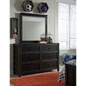 Signature Design by Ashley Jaysom Dresser & Bedroom Mirror