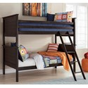 Signature Design by Ashley Jaysom Twin/Twin Bunk Bed - Item Number: B521-59P+R+S