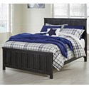 Signature Design by Ashley Jaysom Full Panel Bed - Item Number: B521-87+84+86