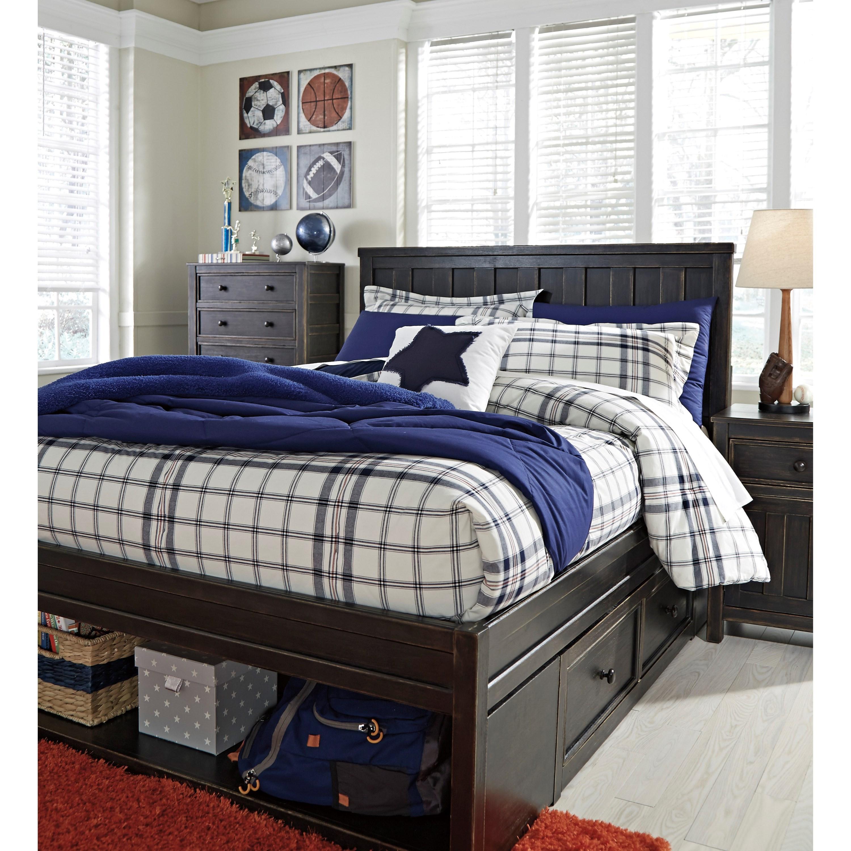 Signature Design By Ashley Jaysom Full Panel Storage Bed