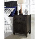 Signature Design by Ashley Jaysom Night Stand with Door and Drawer