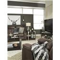 Signature Design by Ashley Jesolo Reclining Sofa and Rocker Recliner Set - Item Number: 817386700