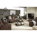 Signature Design by Ashley Jesolo Reclining Living Room Group - Item Number: 86704 Living Room Group 2
