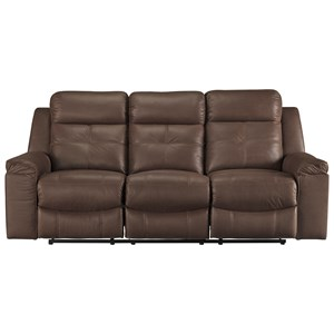 Signature Design by Ashley Jesolo Reclining Sofa