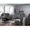 Signature Design by Ashley Jesolo Reclining Living Room Group - Item Number: 86705 Living Room Group 2