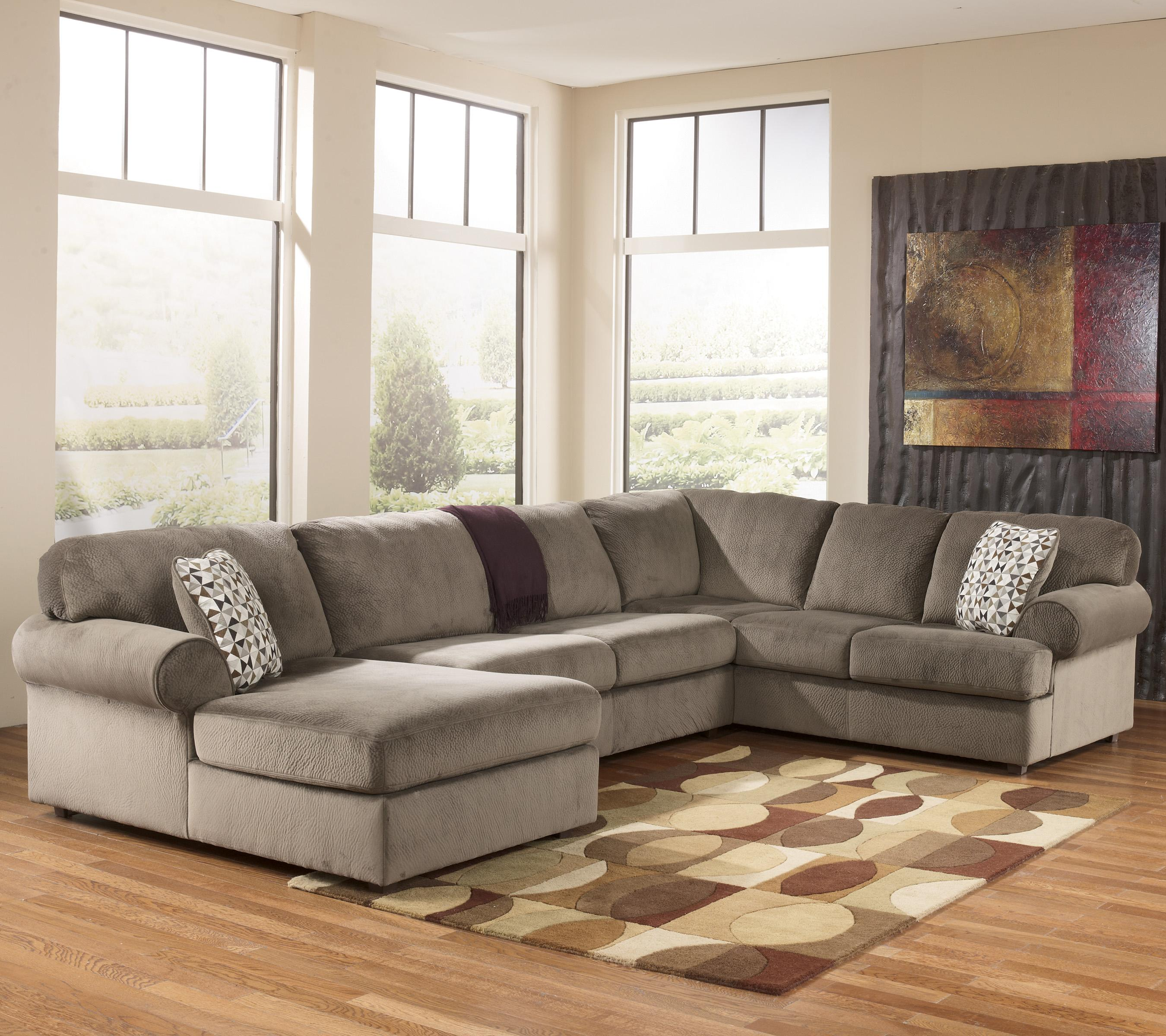 Signature Design By Ashley Jessa Place Dune Casual Sectional